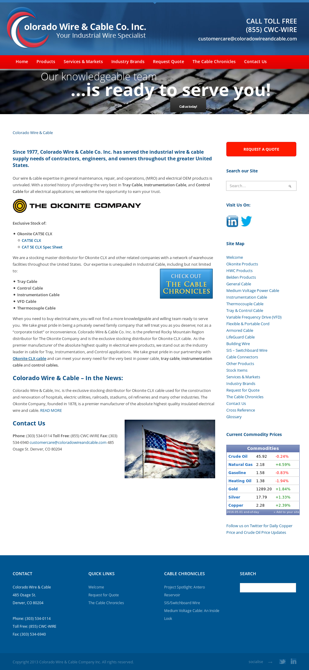 Colorado Wire & Cable Competitors, Revenue and Employees - Owler ...