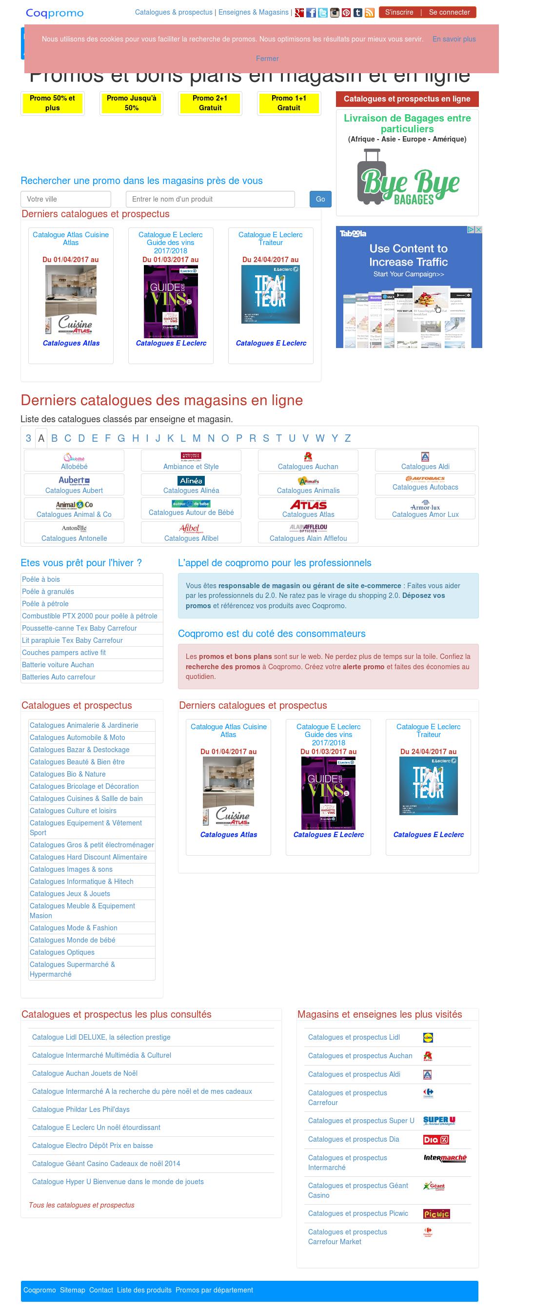 alinea catalogue noel 2018 Coqpromo : Le Coq De Promos Vous Alerte Competitors, Revenue and  alinea catalogue noel 2018