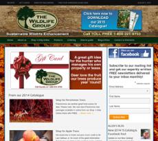 Wildlife Group website history