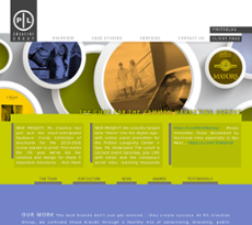 Pil Creative Group website history
