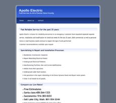 Apollo Electric website history