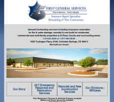 First General Services website history