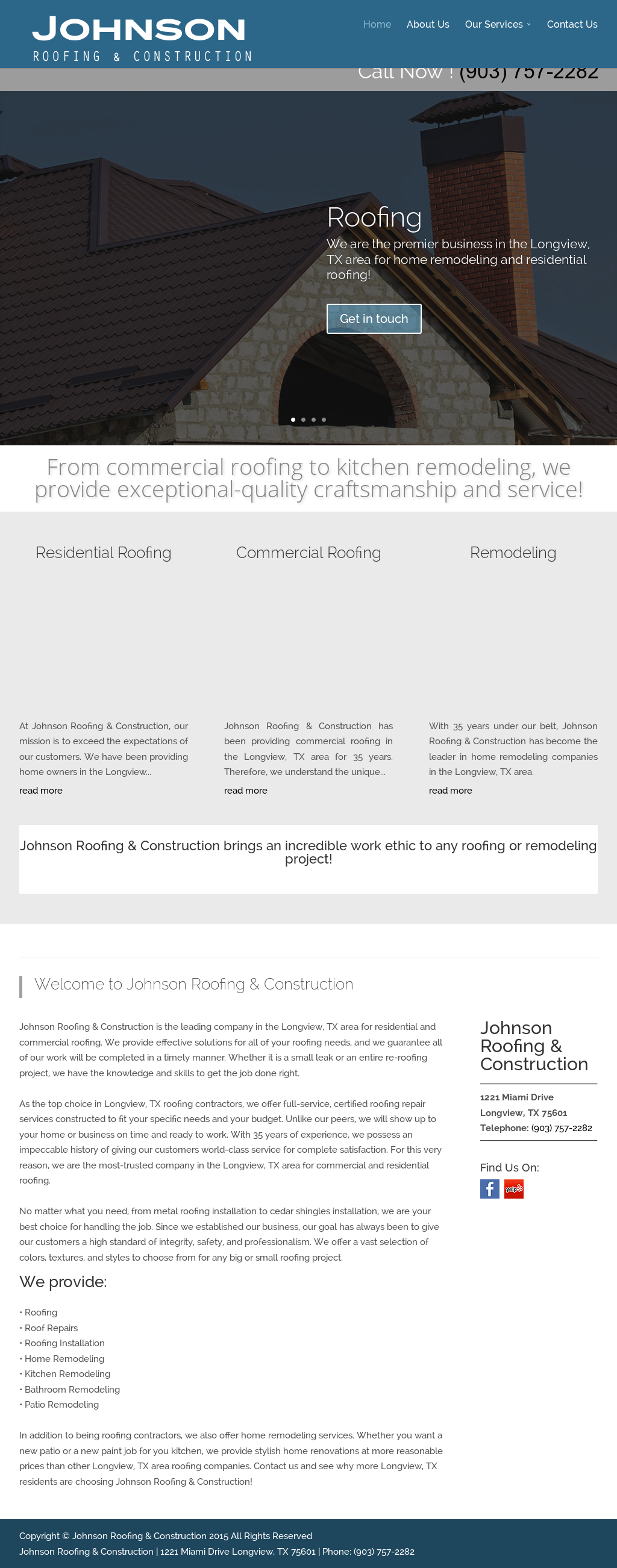 Johnson Roofing Construction Compeors Revenue And Employees Owler Company Profile