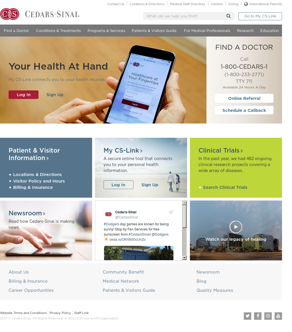 Cedars Sinai Competitors, Revenue and Employees - Owler Company Profile