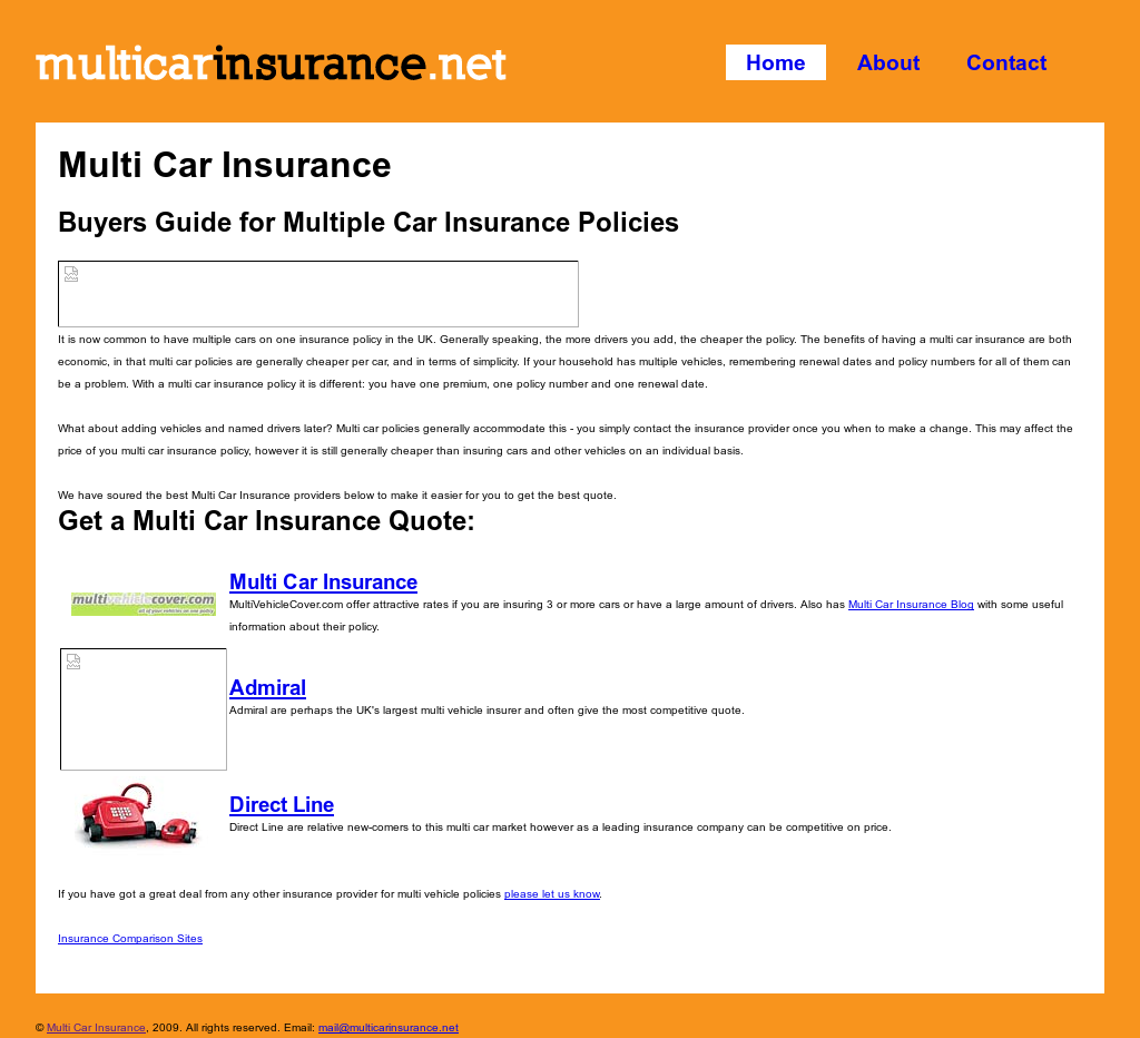 Direct Line Multi Car Insurance >> Multicarinsurance Competitors Revenue And Employees Owler