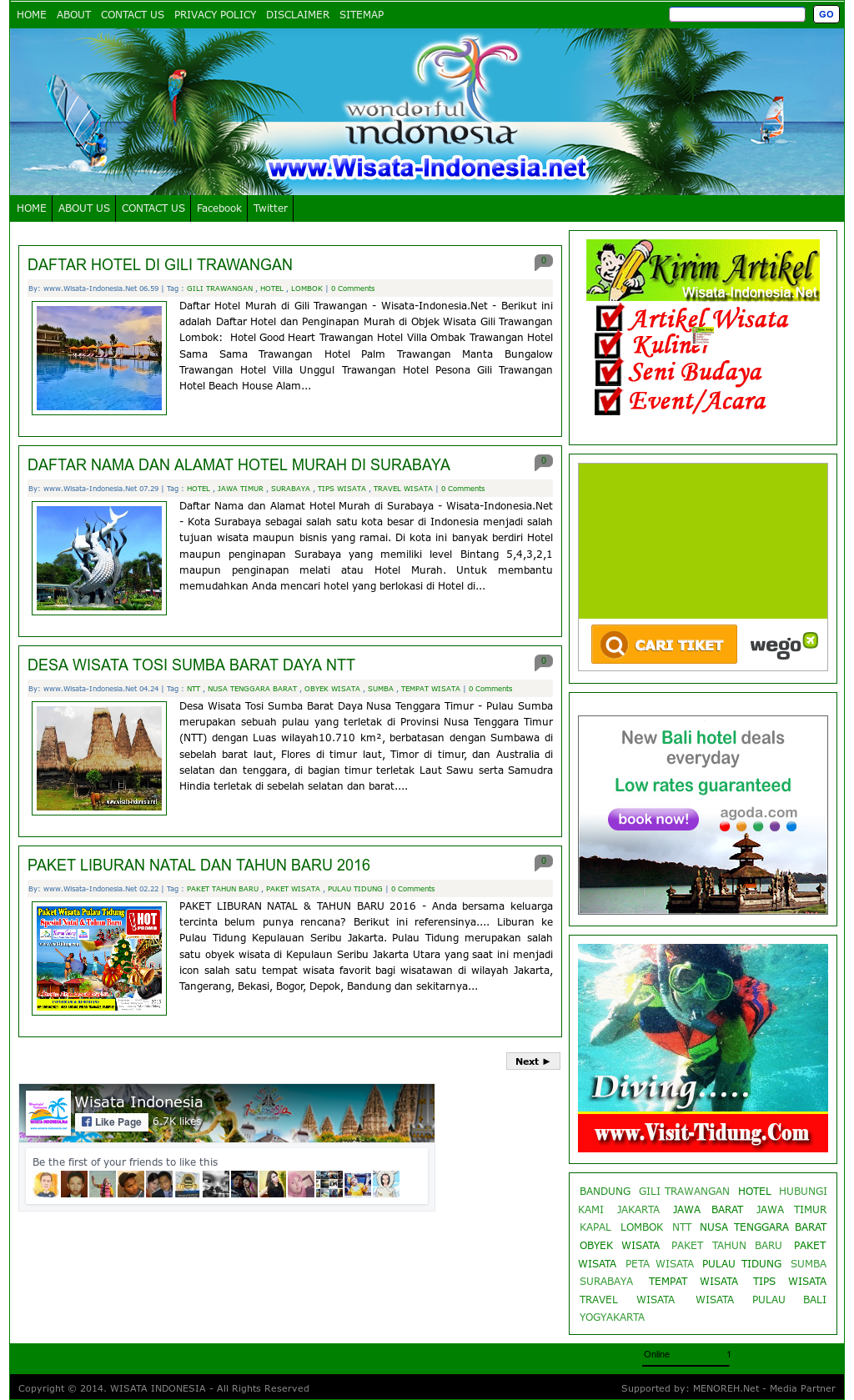 Wisata Indonesia Competitors Revenue And Employees Owler