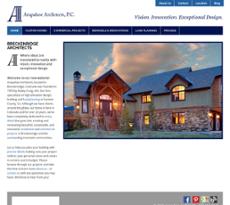 Arapahoe Architects website history