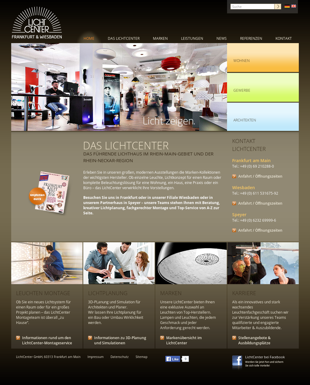 Lichtcenter Frankfurt lichtcenter competitors revenue and employees company profile on