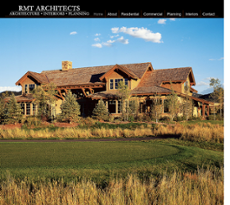 RMT Architects website history