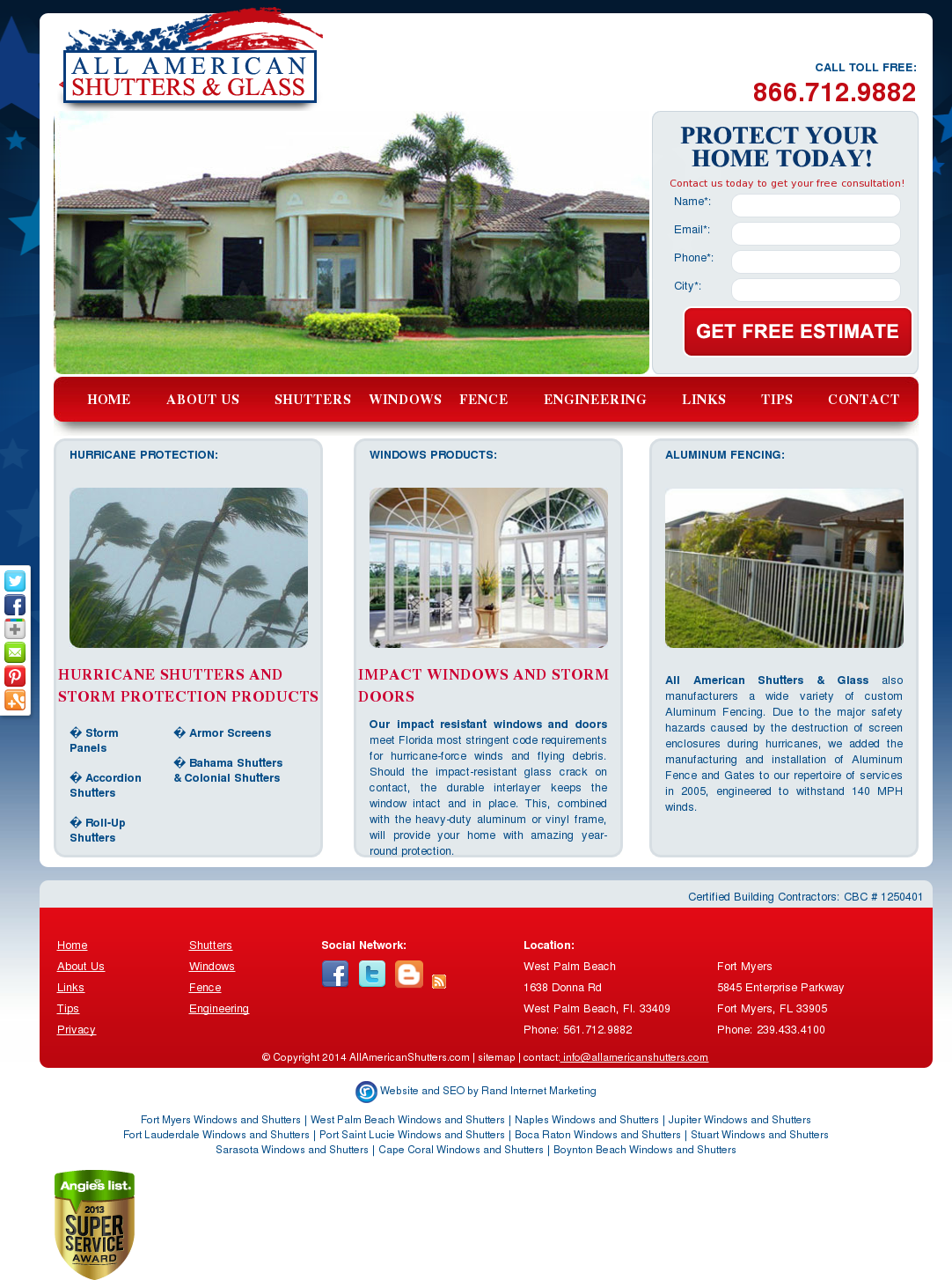 All American Shutters Gl Compeors Revenue And Employees Owler Company Profile
