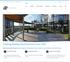 United Construction Products website history