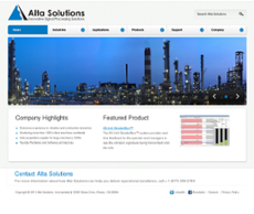 Alta Solutions website history