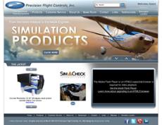 Precision Flight Controls website history