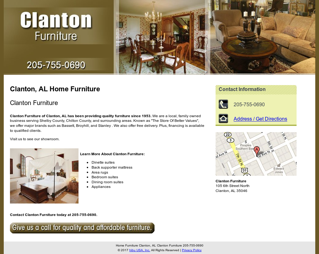Clanton Furniture Compeors Revenue And Employees Owler Company Profile
