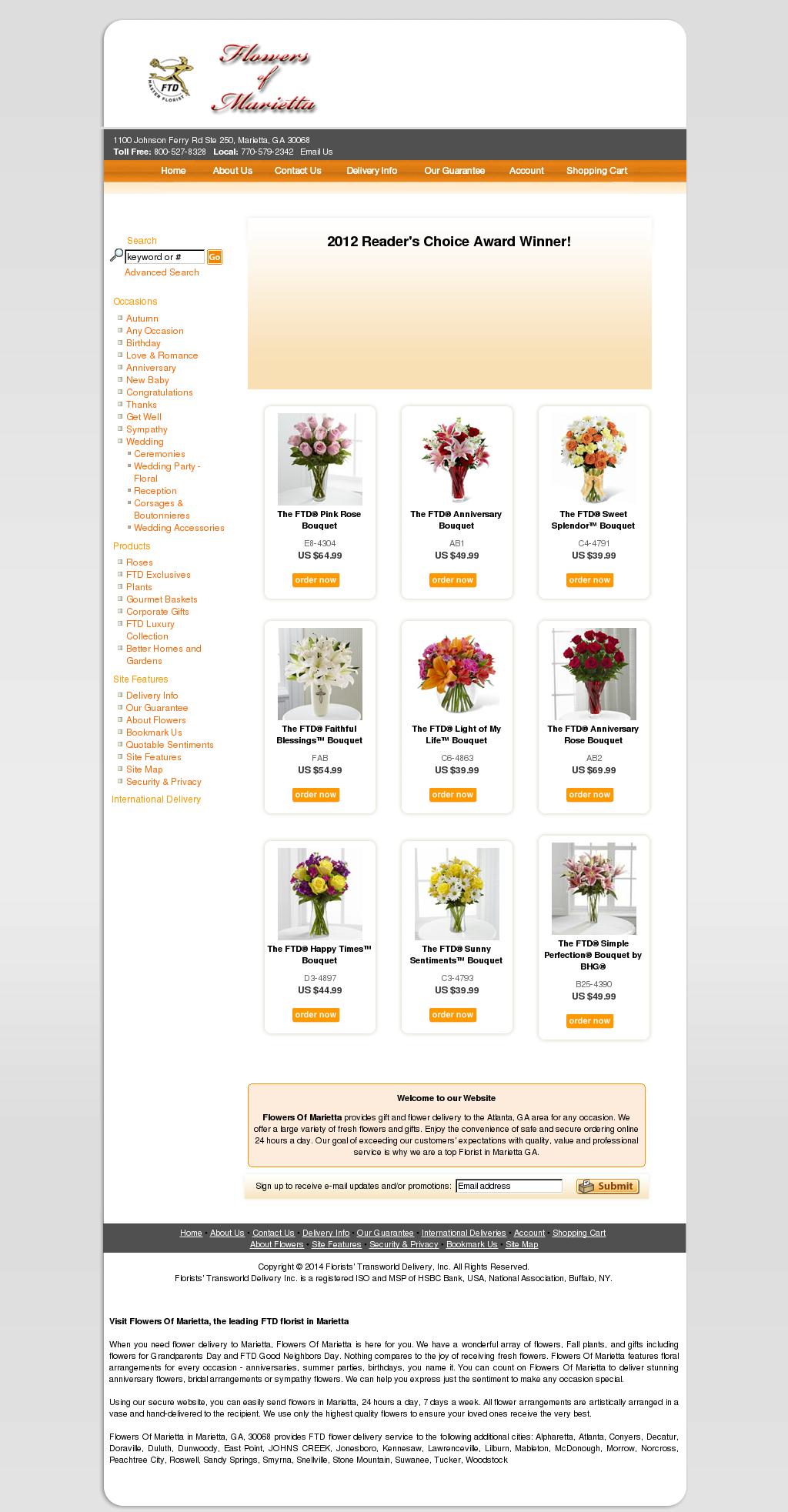 Florist's Transworld Delivery Competitors, Revenue and