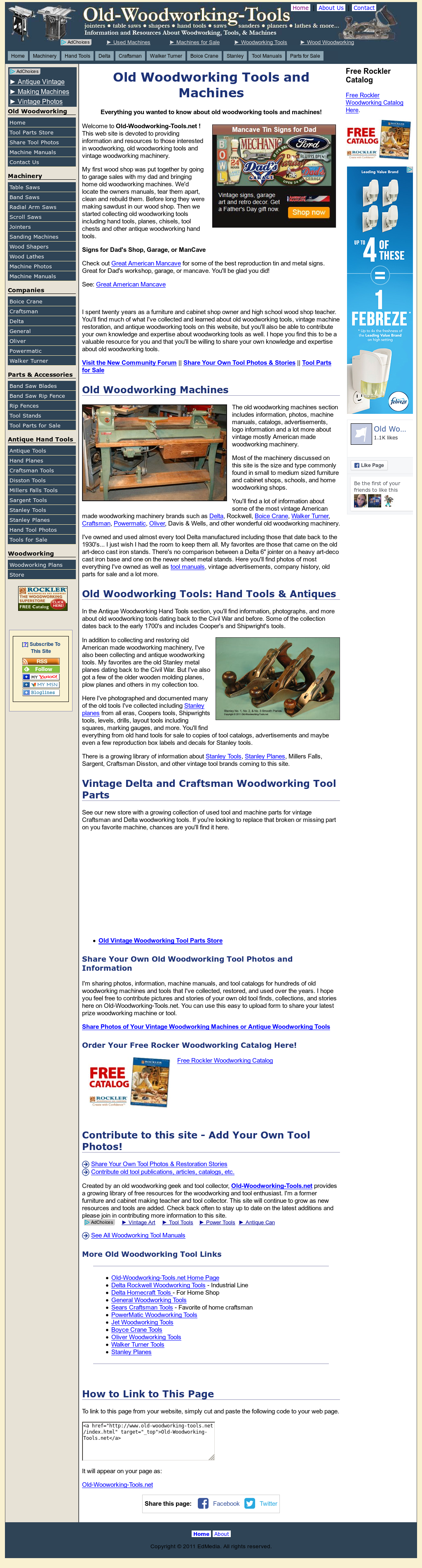 Old Woodworking Tools Competitors Revenue And Employees Owler