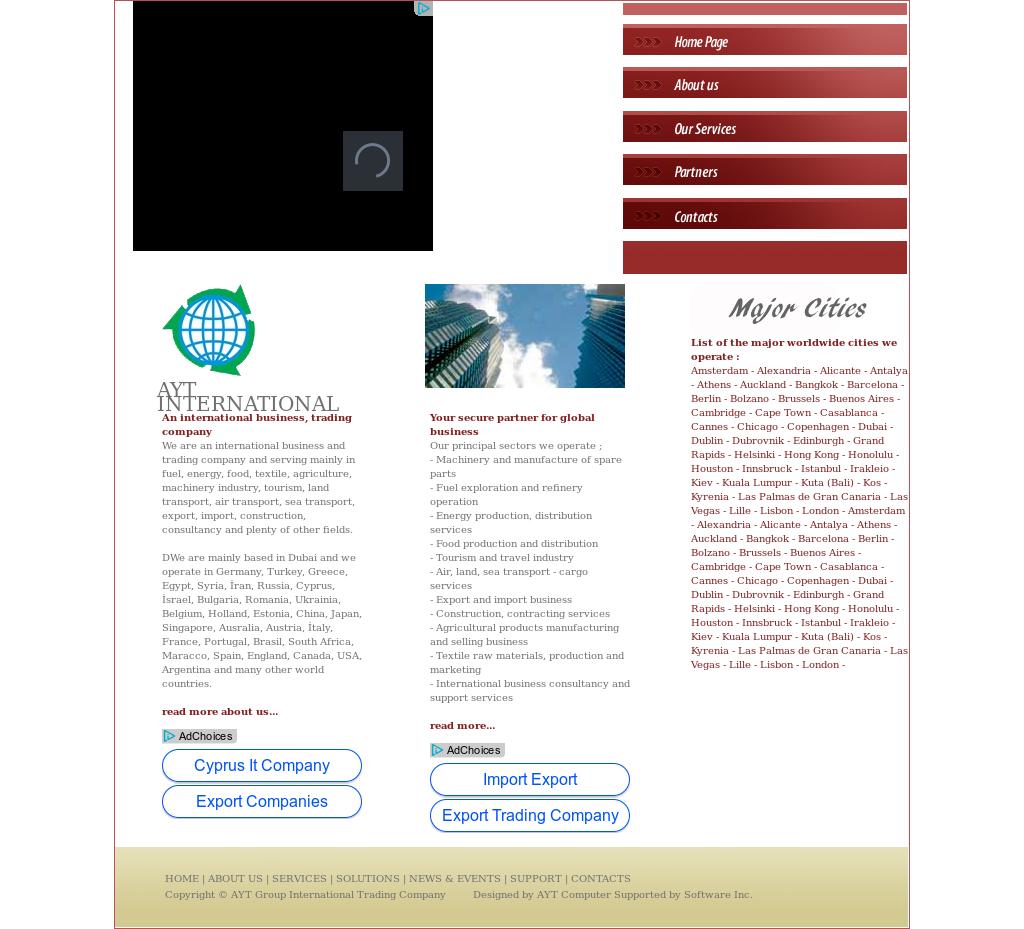 Ayt Group International Trading Company Competitors, Revenue
