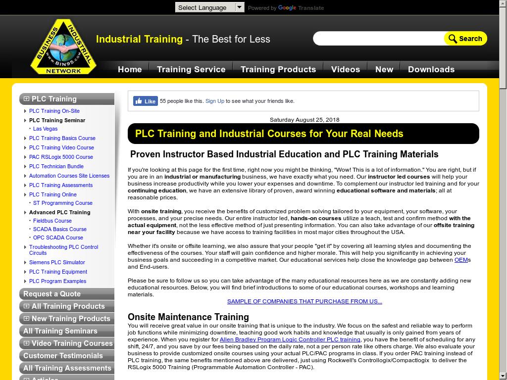 Bin95 com Industrial Training Competitors, Revenue and