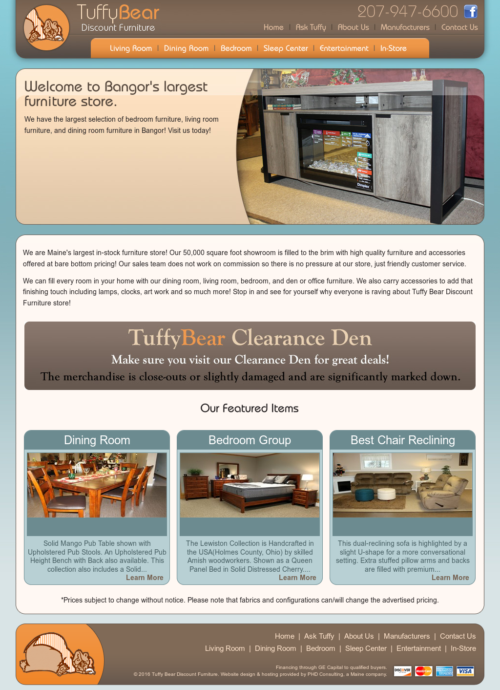 Tuffy bear discount furniture competitors revenue and for Cheap furniture sites