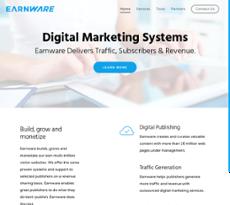 Earnware website history