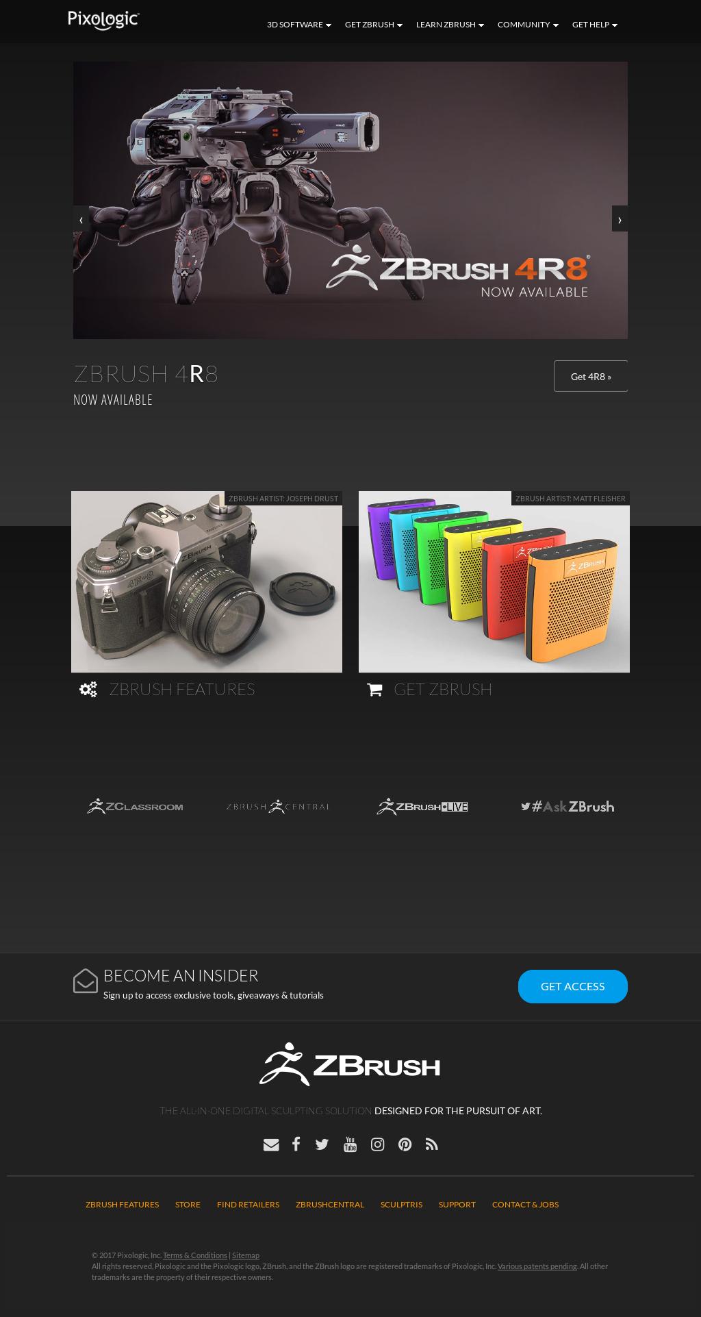 Owler Reports - Pixologic: Pixologic ZBrush 4R8 Update 2 Available