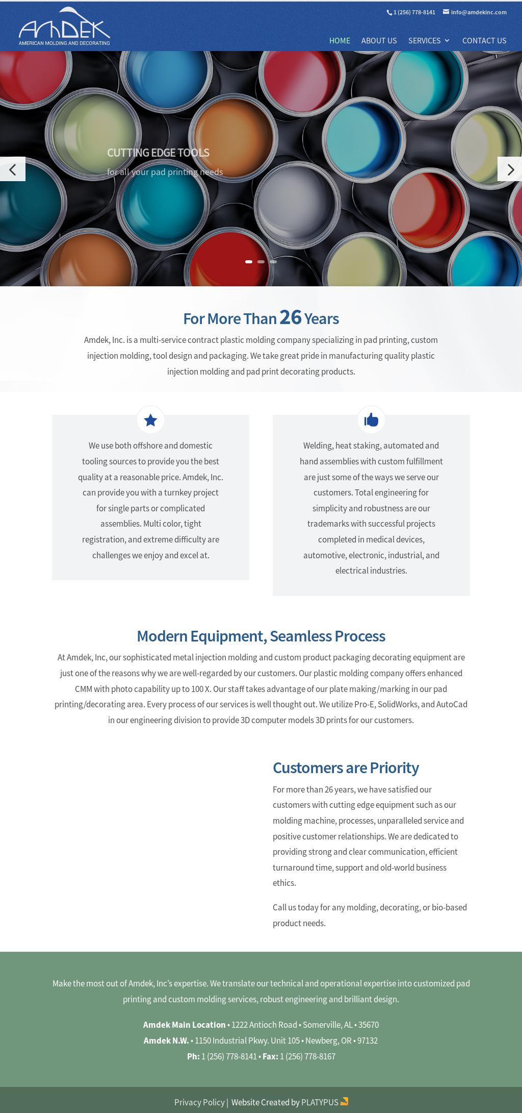 Amdek Competitors, Revenue and Employees - Owler Company Profile