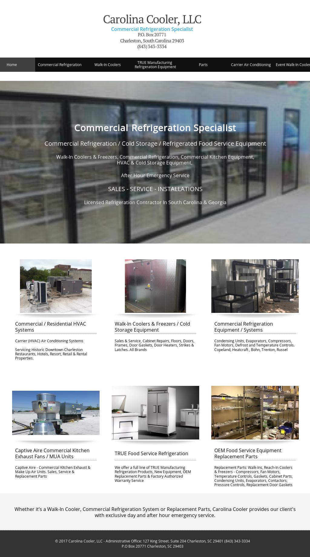 Carolina Cooler, Llc Food Service Equipment Competitors, Revenue and ...