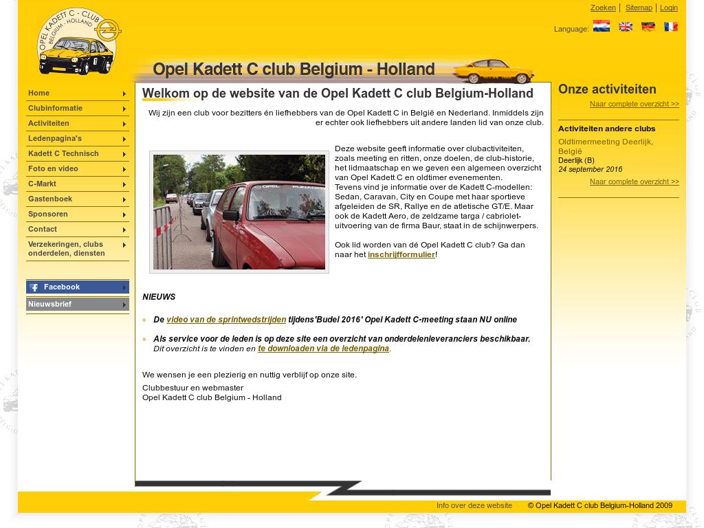Opel Kadett C Club Belgium Holland Competitors Revenue And
