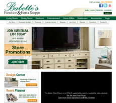 Babetteu0027s Furniture Website History