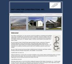 Pat Carlton Construction website history