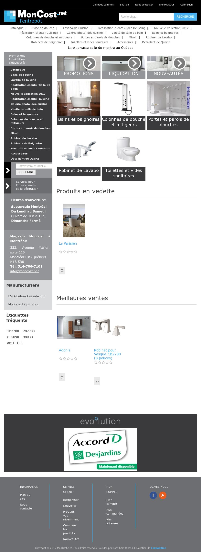 Petit Rangement Mural Salle De Bain ~ Moncost Competitors Revenue And Employees Owler Company Profile