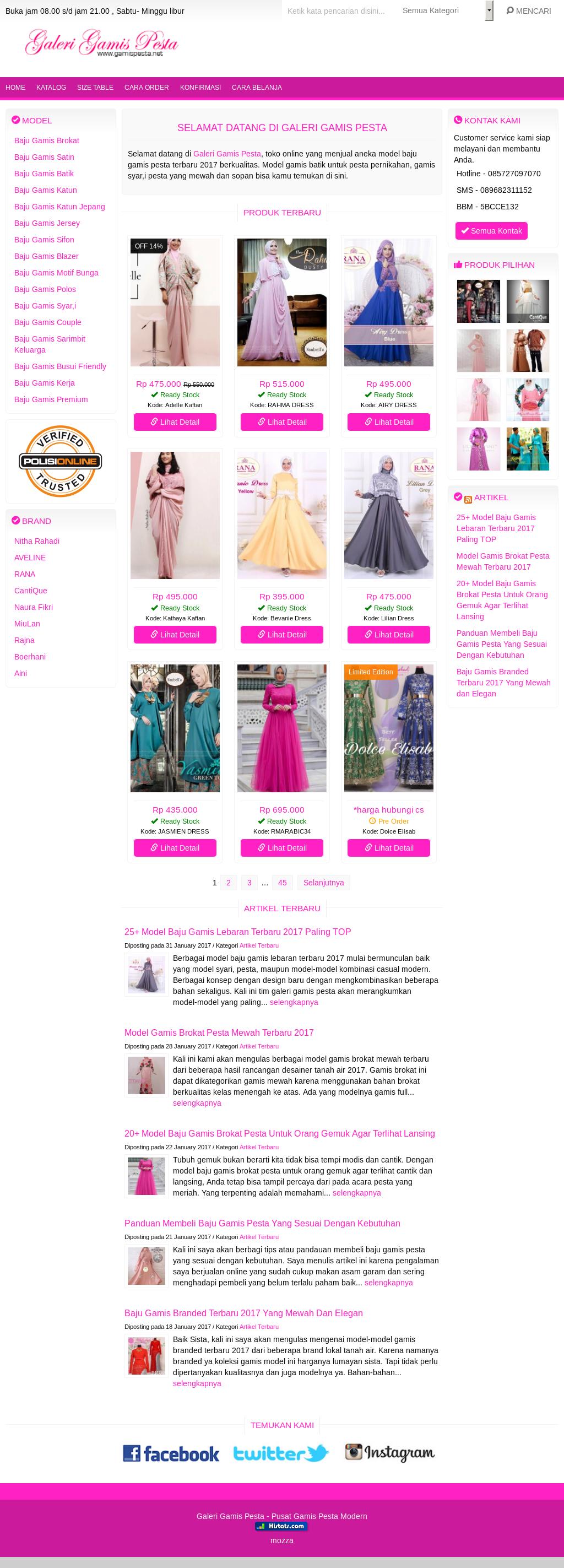 Owler Reports - Galeri Gamis Pesta Blog 12 Model Baju Gamis Modern