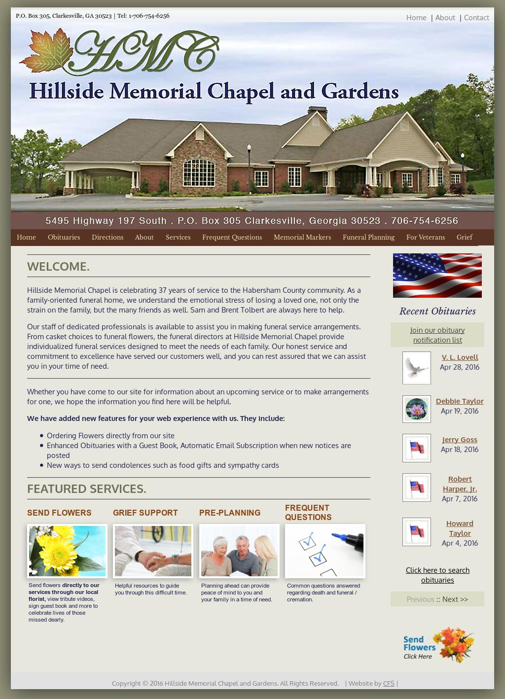 Hillside Memorial Chapel Competitors, Revenue and Employees