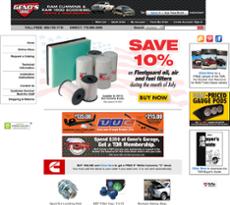 Genos Garage website history