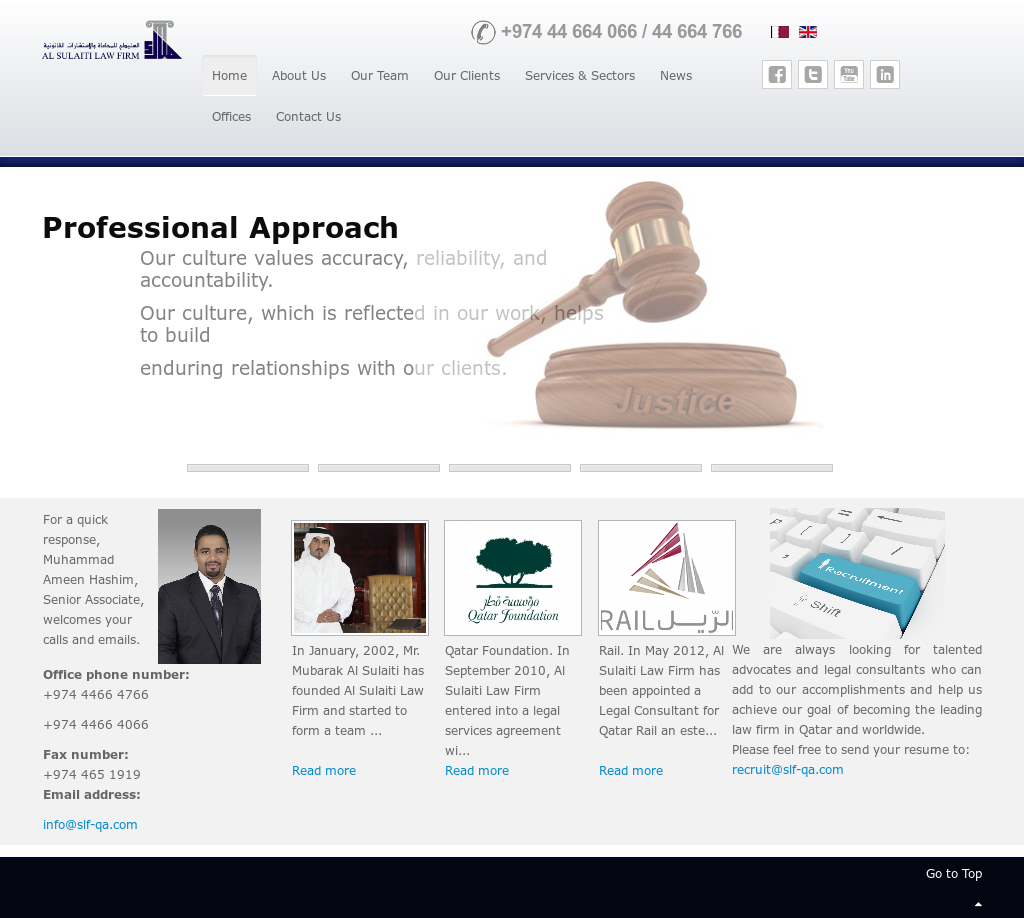 Al Sulaiti Law Firm Competitors, Revenue and Employees