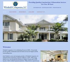 Winfield Companies website history