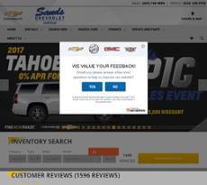 Sands Chevrolet   Surprise Website History