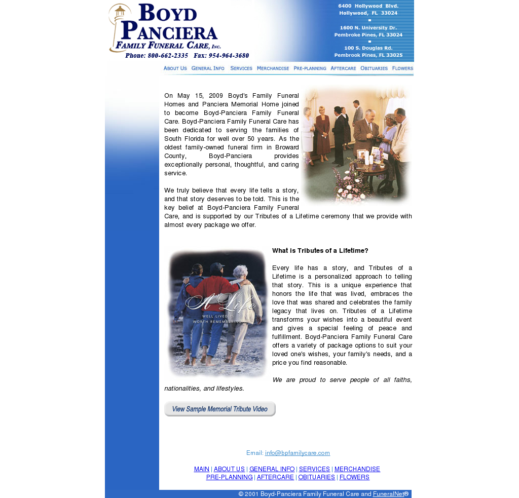 boyd panciera family funeral care competitors revenue and employees