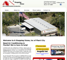 A Stepping Stone website history