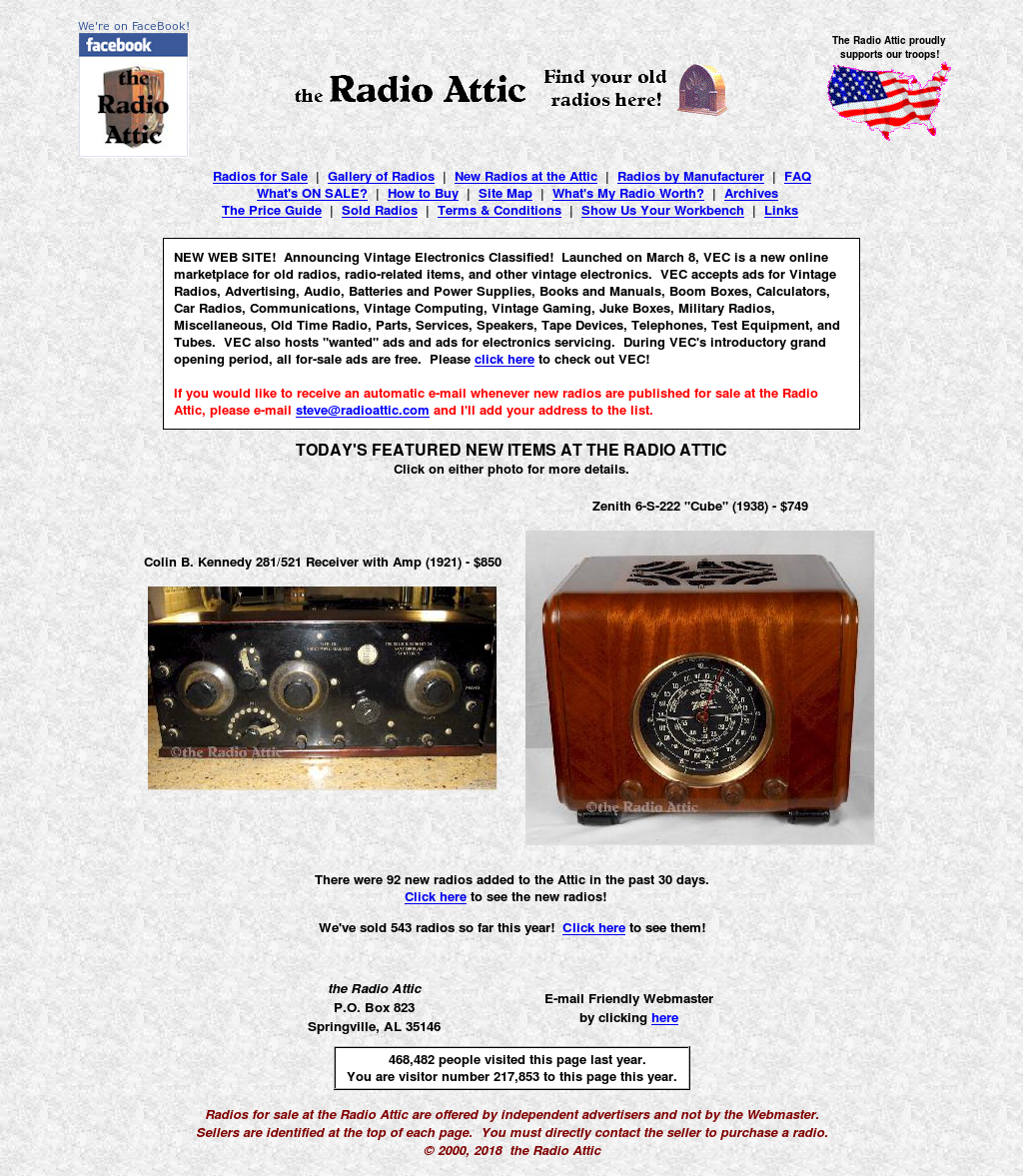 the Radio Attic website history  sc 1 st  Owler & the Radio Attic Competitors Revenue and Employees - Owler Company ...