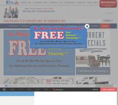 Michaelu0027s Furniture Warehouse Website History