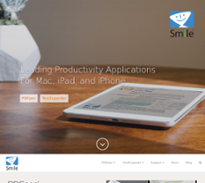 SmileOnMyMac website history