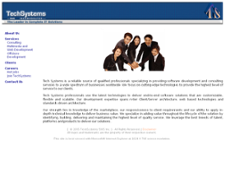 TechSystems SWS website history