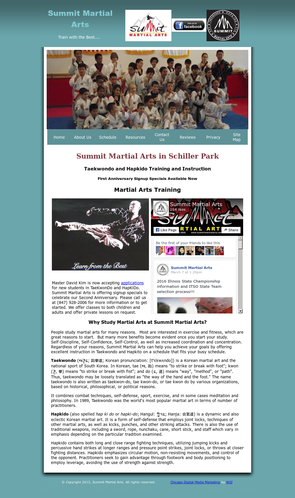 Summit Martial Arts Competitors, Revenue and Employees - Owler