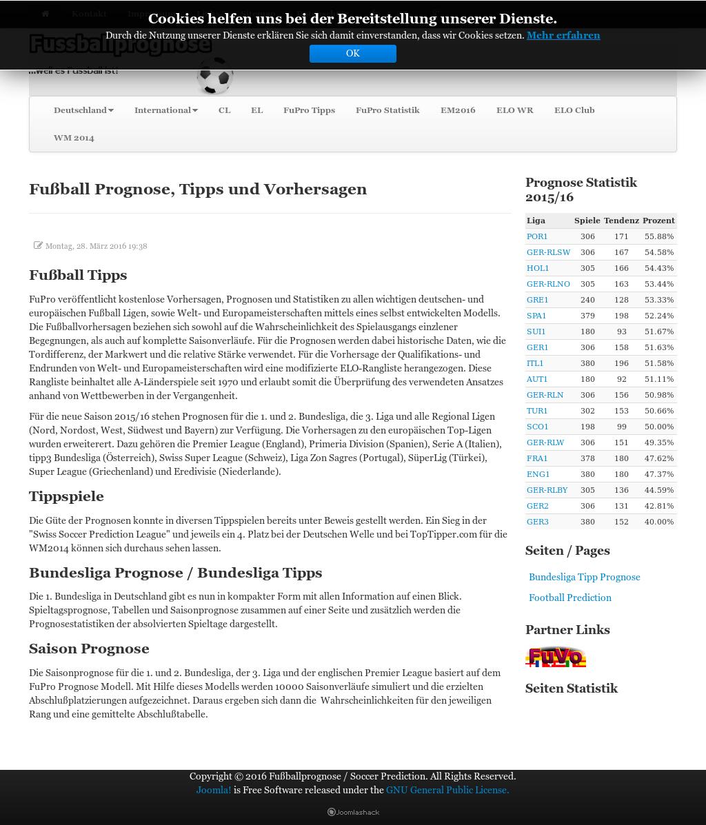 Fussballprognose