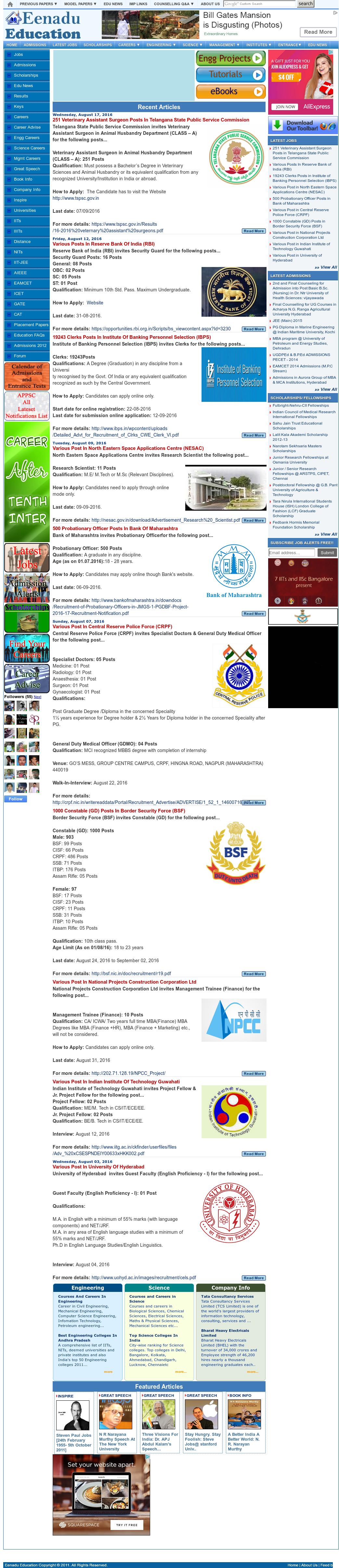 Eenadu Education Competitors, Revenue and Employees - Owler