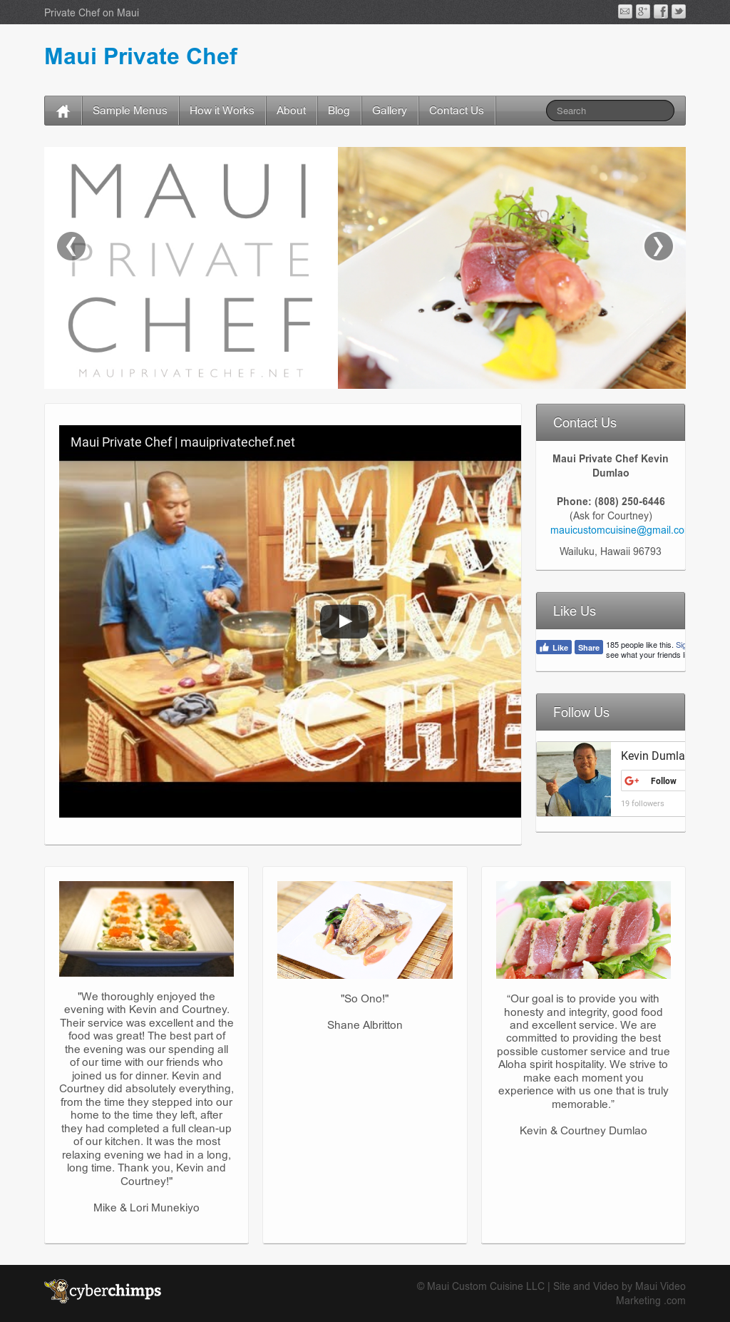 Maui custom cuisine competitors revenue and employees for Cuisine history