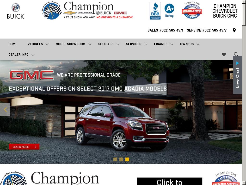 Championcbg Website History