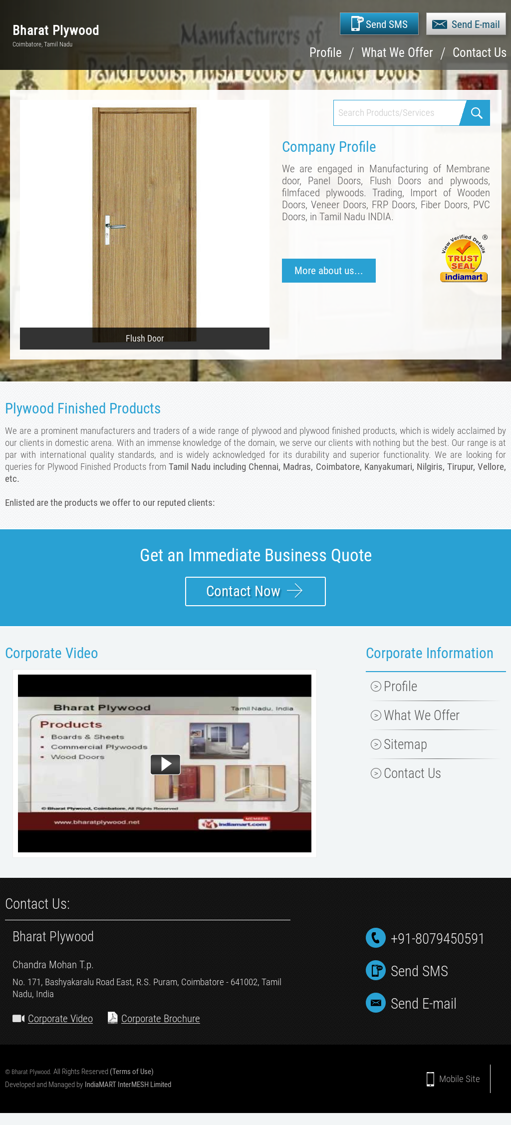 Bharat Plywood Competitors, Revenue and Employees - Owler