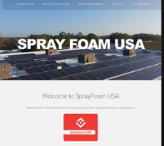Spray Foam website history
